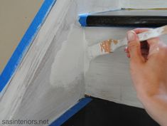 Staircase - Painting with Benjamin Moore Aura