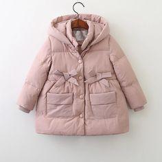Нет описания фото. Jean Jacket For Girls, King Baby, Canada Goose Jackets, Parka, Winter Outfits, Little Girls, Kids Fashion, Like4like, Raincoat