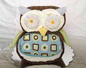 Owl Shaped Diaper Cake