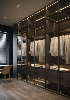 Wardrobe Room, Wardrobe Design Bedroom, Master Bedroom Design, Master Suite, Modern Luxury Bedroom, Luxury Home Decor, Luxurious Bedrooms, Dressing Room Closet, Dressing Room Design