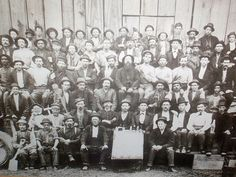 """""""Employees of the Illinois Glass Company – 1875,""""  This company was formed in Alton, Illinois, in 1873."""