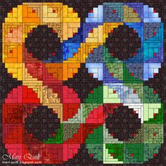 Log cabins 43276846408133127 - Ideas quilting designs patterns scrap log cabins Source by terrythuis Log Cabin Patchwork, Log Cabin Quilt Pattern, Patchwork Quilt Patterns, Log Cabin Quilts, Log Cabins, Quilt Inspiration, Log Cabin Designs, Rainbow Quilt, Quilt Modernen