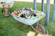 Afbeeldingsresultaat voor wheelbarrow with beer