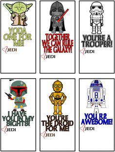 Free Printable Star Wars Valentines | Being Genevieve -  These adorable valentines are perfect for any boy or girl to give to their friends with a fun pre-inked star wars stamp attached to the bottom. *View blog to see where to buy the pre-inked stamps.*
