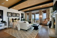 My future Bedroom :)I Love the colors.