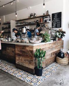 Rustic Coffee Shop, Cozy Coffee Shop, Small Coffee Shop, Coffee Shops, Coffee 21, Cuban Coffee, Cafe Shop Design, Coffee Shop Interior Design, Coffee Cafe Interior
