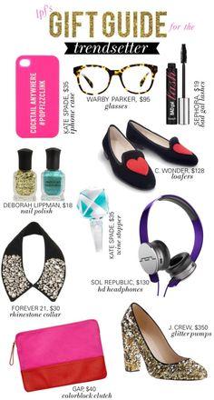 LPF Gift Guide for: the Trendsetter #trend #giftguide #tistheseason #gifts #swimspot SwimSpot.com