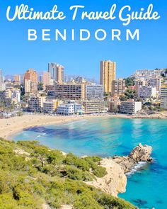 Benidorm is one of the most popular holiday resorts in the province of Alicante in Spain.  Every year countless tourists from all over the world come to spend their summer holidays here in the most famous town on the Costa Blanca. Along the coast are huge skyscrapers, which shape the landscape with the long, bright sandy beaches and the beautiful turquoise-blue sea. But not only the skyline is impressive. Above all, there are many exciting things to do in Benidorm Stuff To Do, Things To Do, Holiday Resort, The Province, Ultimate Travel, Skyscrapers, Sandy Beaches, Alicante, All Over The World