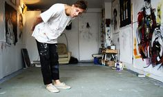 Anthony Lister Preview Beautiful People, Pants, Adventure, Style, Painting, Fashion, Trouser Pants, Swag, Moda