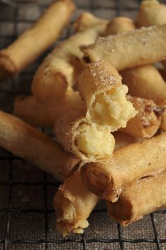 Milk tart Springrolls – Magic happens when two cuisines meet!