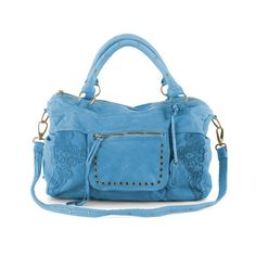 https://www.cityblis.com/4345/item/15100   Splendor Lace Sky Blue - $549 by Moni Moni   Our signature Splendor, now with laser-etched lace design. The Splendor Lace is the ideal carry-all in our super-soft, slouchy leather. Washed leather gives Splendor its effortless, distressed appearance. Detachable strap to wear cross-body with outside zipper to keep essentials within easy reach. ...   #Handbags/Purse