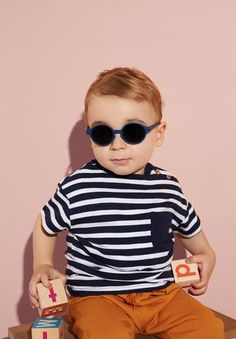 Izipizi – der kleine salon Blue Denim, Round Sunglasses, Unisex, Kids, Collection, Women, Fashion, Small Salon, Children