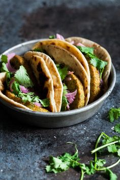 Bombay Wraps with Apple Raisin Chutney & Quick Pickled Onions