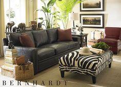 living rooms safari sofa - Safari Living Room Decor