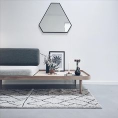 KK Daybed in Oiled Oak from by KlipKlap. Simple, minimalistic and beautiful design. Photo credit: @tinejuel_