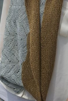Typha in Fibre Company's new yarn Meadow: http://throughtheloops.typepad.com/through_the_loops/2013/05/typha.html