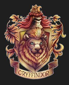 Gryffindor by NikiVandermosten.deviantart.com on @DeviantArt