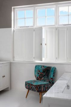 Solid shutters have been used in the UK for more than 200 years. They provide a more traditional finish to dressing your interior wooden windows. Wooden Shutters Indoor, Wooden Windows, Woodworking, Interior, Furniture, Home Decor, Wooden Window Boxes, Wood Windows, Decoration Home