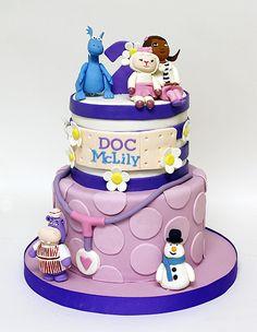 Doc McStuffins cake. ©Coco Paloma Desserts.