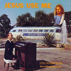 """Little Richard Miller, born without arms and legs, on the cover of his album """"Jesus Use Me"""""""