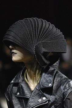 Shell Armour Hat by Junya Watanabe.