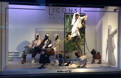 Icons of Fashion - de Bijenkorf Den Haag
