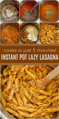 Ground Beef Pressure Cooker Recipe, Instant Pot Pressure Cooker, Pressure Cooker Recipes, Pressure Cooking, Beef Recipe Instant Pot, Instant Pot Dinner Recipes, Garlic Spaghetti, Spaghetti Sauce, Healthy Ground Beef