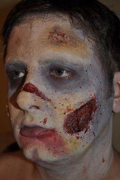 DIY Zombie makeup!