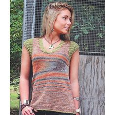 Knit One Crochet Too 2314 Oxford Tee