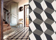 cement tile at www.cletile.com      roman-holiday-floor_1.jpg (550×400)