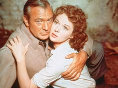 "Gary Cooper and Susan Hayward publicity still for ""Garden of Evil"", 1954"