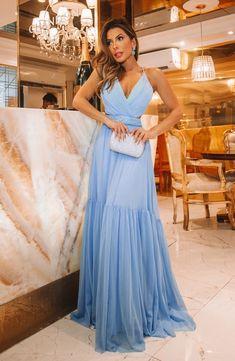 Cute Prom Dresses, Dresses To Wear To A Wedding, Ball Dresses, Nice Dresses, Bridesmaid Dresses, Stunning Dresses, Elegant Dresses, Formal Dresses, Vestidos Azul Serenity