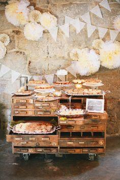 Pie Table at Temecula Creek Inn - Diana Marie Photography