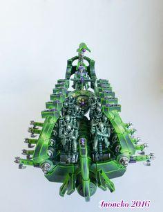Green Necron Ghost Arc, Warhammer 40K