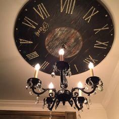 Black Ceiling Medallion Endearing Exclusive Free Liquorice Pompom Tutorial  Pinterest  Ceiling Design Decoration