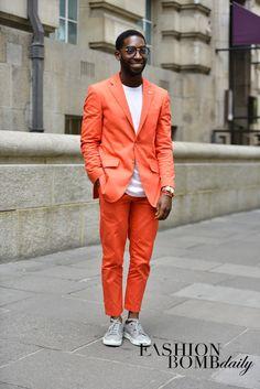 Tinie Tempah @ London -Mens-Spring-2015