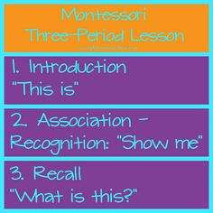 How to Teach Concepts and Vocabulary to Your Preschooler Using the Three-Period Lesson