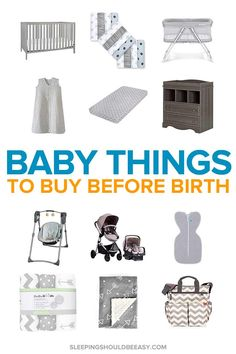 Want to know what to buy before the baby is born? With so many things to do while you're pregnant, it can be hard to decide which are the most essential things a newborn baby needs. Here's a checklist of the top baby products to buy before birth (inc Newborn Baby Needs, Baby Baby, Pregnancy Information, Before Baby, Buy Buy Baby, Baby Arrival, Pregnant Mom, Pregnancy Tips, Pregnancy Style