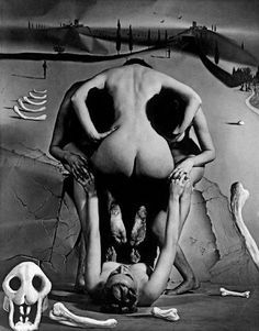 Leopard Skull (collaboration with Salvador Dal),1951  © Philippe Halsman / Magnum Photos