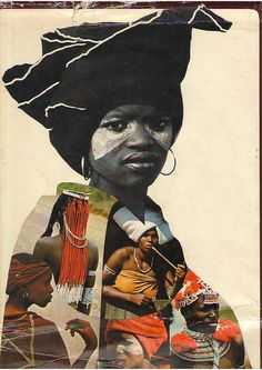 African Elegance by Alice Mertens and Joan Broster African Life, South African Art, African Women, African Fashion, Xhosa, African Artists, Black Artwork, Black Artists, Art Abstrait