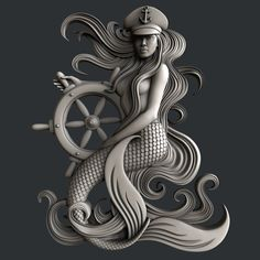 STL models for CNC router mermaid Diy Cnc Router, Router Woodworking, Woodworking Shop, Zbrush, 3d Printer Models, Stl File Format, 3d Printer Designs, 3d Cnc, Auction Projects