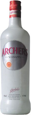 Always afford the real thing, not the Iceland version. Peach Schnapps, Life Plan, Archer, Yummy Drinks, Peaches, Iceland, Vodka Bottle, Cheers, Crisp