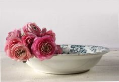 Lovely French St Amand Dish - Pattern Marie louise