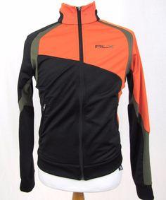 RLX Ralph Lauren Jacket Medium Mesh Full Zip Sport Track Running Athletic Coat #RLXRalphLauren #BasicJacket