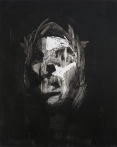 Edgy paintings by UK artist Antony Micallef