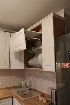 Дизайн белой угловой кухни ЗОВ 9 кв.м в классическом стиле Kitchen Cabinets, Decor, Furniture, Kitchen, Home, Living Room Tv, Cabinet, Living Room Tv Wall, Home Decor