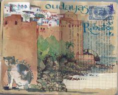 Oudayas, Rabat, Café Maure, Urumo.