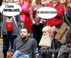 I hate Dubstep I prefer Metal like Metallica. Van Halen is anytime! Music Humor, Music Memes, Metallica Meme, Woodstock, Brutal Legend, Donald Trump, 80s Metal Bands, Metal Meme, Extreme Metal