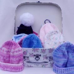 KnitSoPlainJane Premature Baby, Baby Hats, Hand Knitting, Fashion Backpack, 18th, Winter Hats, June, Wool, Instagram Posts