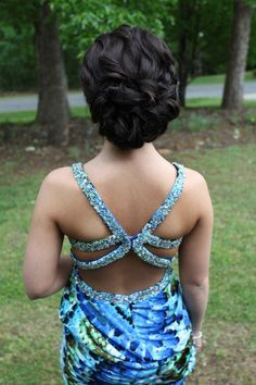Are you daring enough to wear a plunging back/ backless dress?